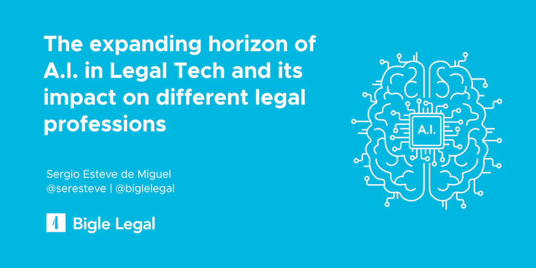 The expanding horizon of AI in legal tech