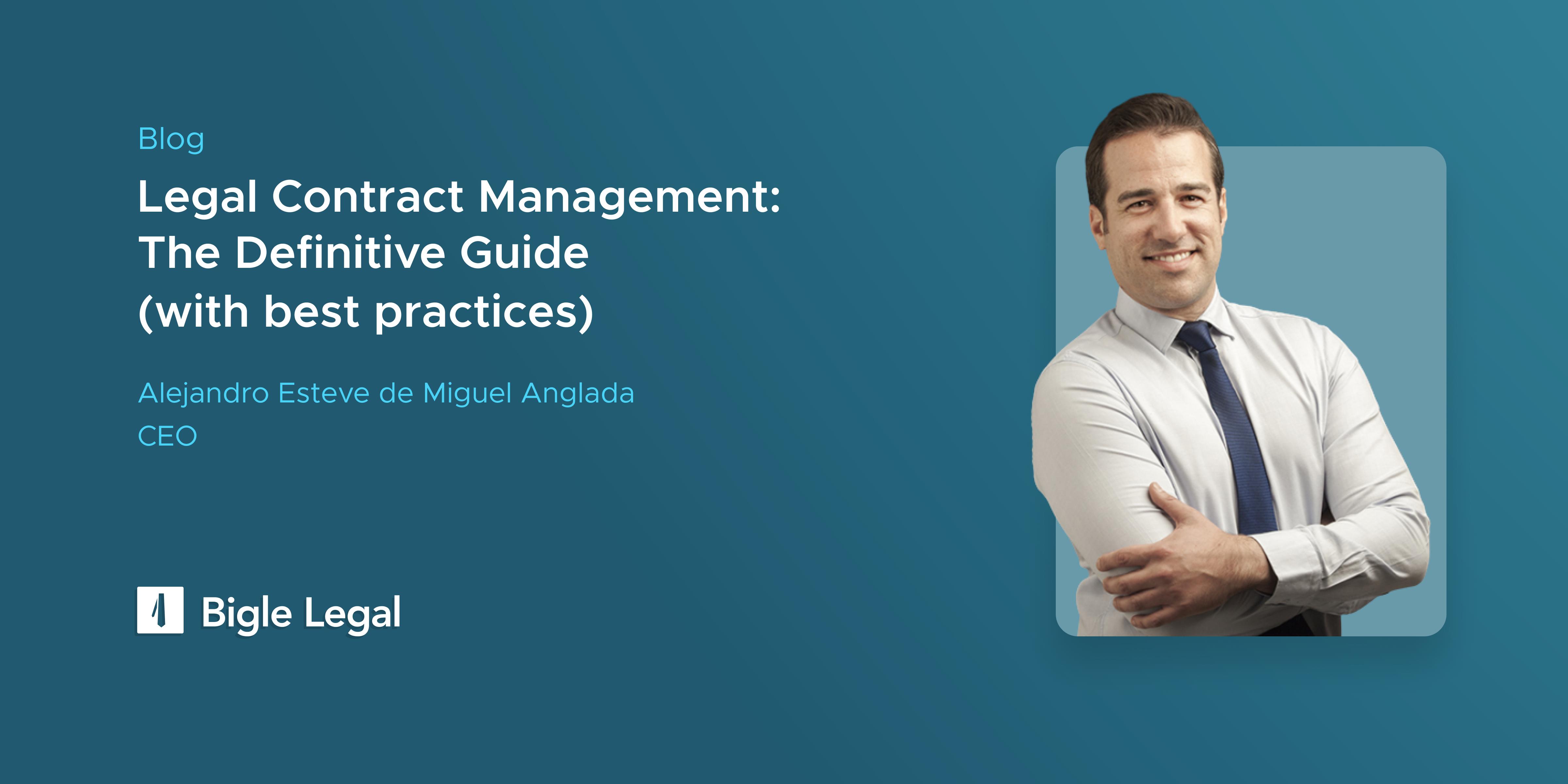 Contract Management Bigle Legal