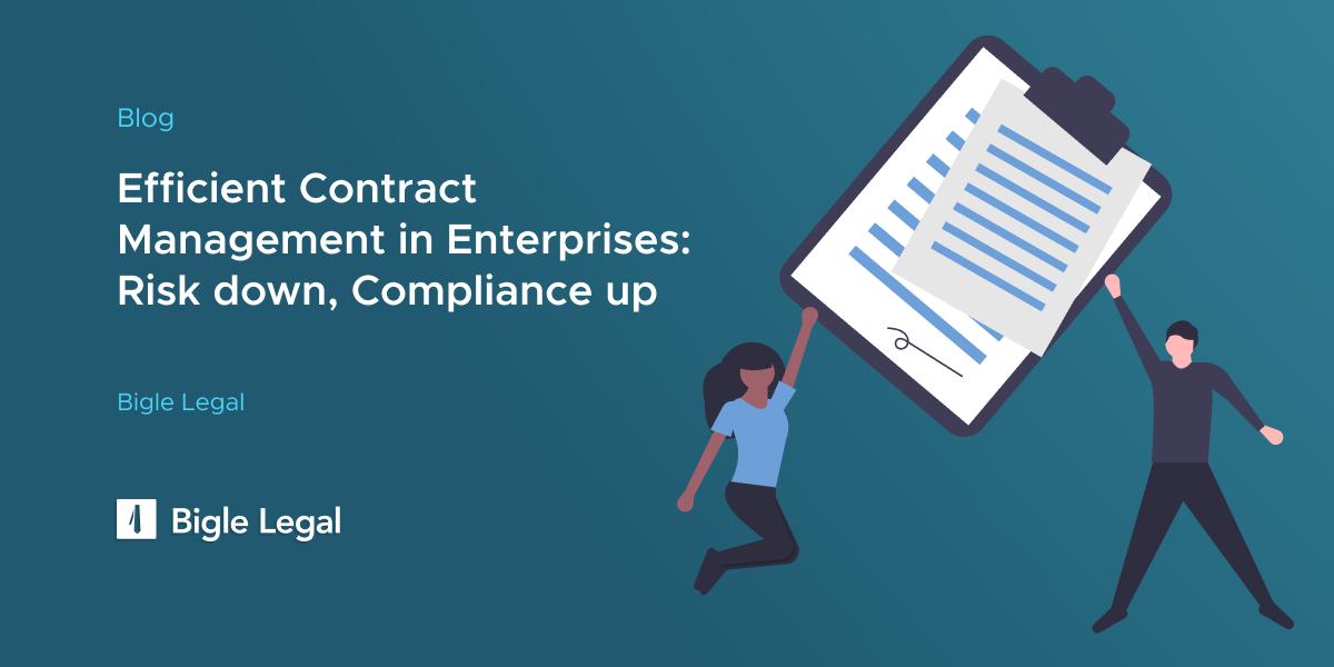 Contract Management - Bigle Legal