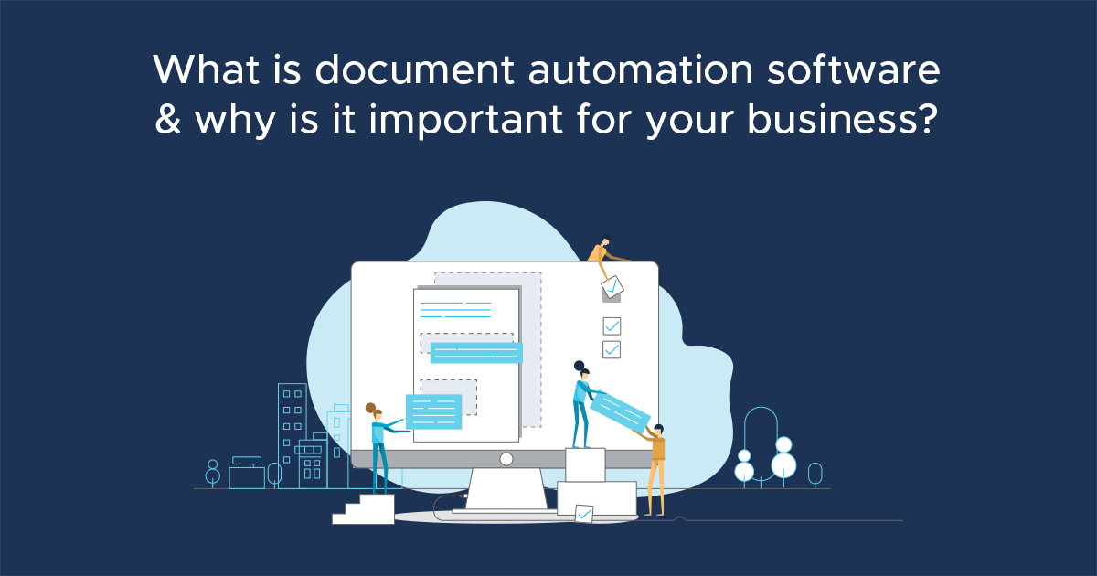 what is document automation software social
